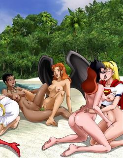 Hot comics sluts