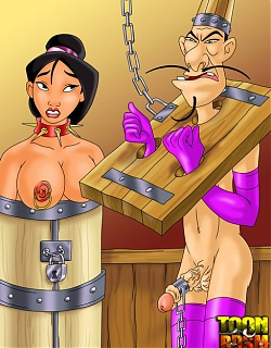 Unleashed Asian BDSM fun with Mulan