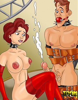 BDSM training of mommy from Iron Giant