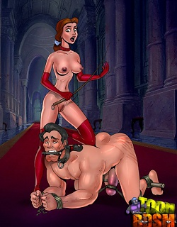 Belle turns into a merciless femdom Mistress