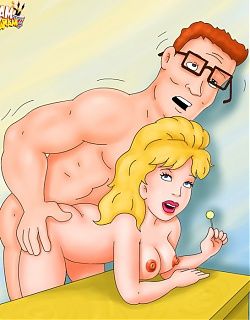Cartoon sex junkies want it huge
