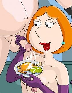 Family Guy turns into male fuck slut