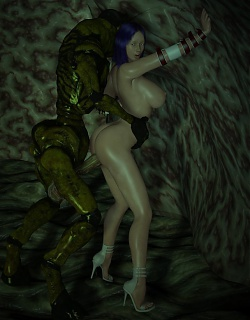 3D Evil Monsters porn