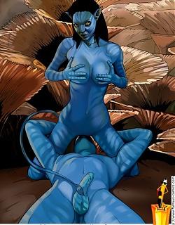Avatar monster fucking