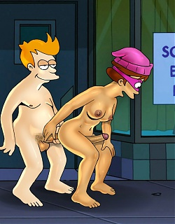 Porn Futurama gone transsexual