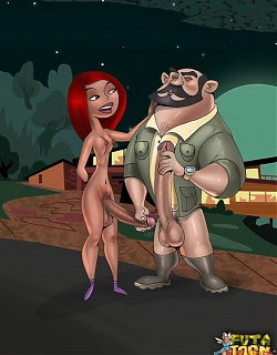 Shemale porn Kim Possible