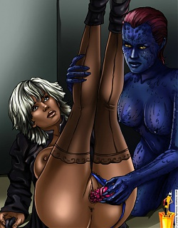 X-men take up porn
