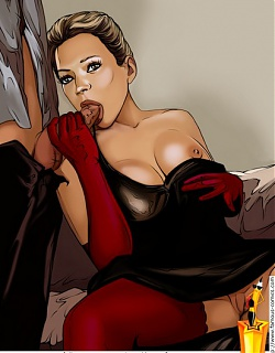 Horny porn star Kate Moss